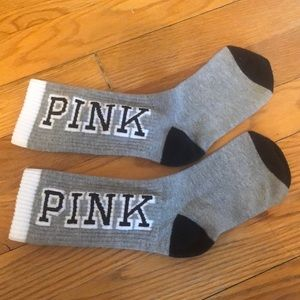 2 pairs of Victoria's Secret PINK socks